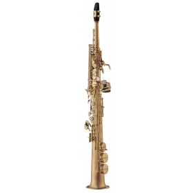 Yanagisawa Soprano Sax Professional - Unlacquered Bronze