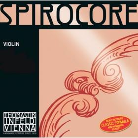 Spirocore Violin String G. Silver Wound 4/4 - Weak