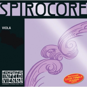 Spirocore Viola String A. Aluminium Wound 4/4 - Weak*R