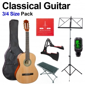 Classical Guitar 3/4 Beginners Pack