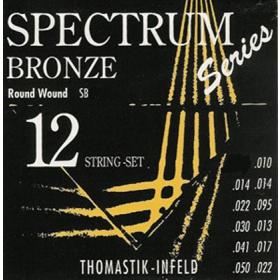 Thomastik Spectrum Bronze SET 12 String. Gauge 0.010