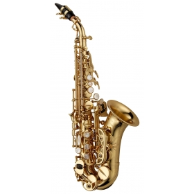 Yanagisawa Soprano Sax Curved - Elite Brass Lacquered