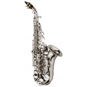 Yanagisawa Soprano Sax Curved - Elite Brass Silverplated