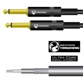 TGI Guitar Cable 6m 20ft - Premium Neutrik Connectors