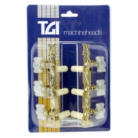 TGI Machineheads. Classical 3 in a Line. Lyra Style. Gold