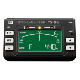 TGI Woodwind Brass Digital Tuner and Metronome with Clip On Mic.