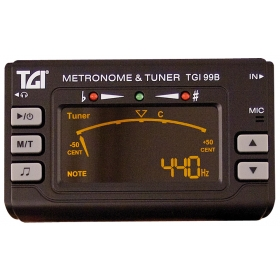 TGI Tuner Chromatic Tuner/Metronome with Clip On Mic.