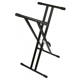 TGI Keyboard stand. Double Braced. Black