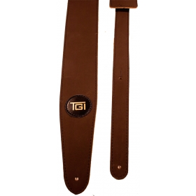 TGI Guitar Strap Suedette Brown