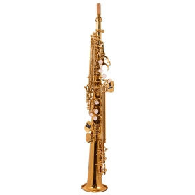Trevor James 'The Horn' Soprano Sax Outfit 2 Piece - Gold Lacquer