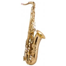 Trevor James EVO Tenor Sax Outfit - Gold Lacquer