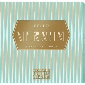Versum Cello String A + D Pack (Multialloy Wound, Steel Core)