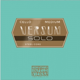 Versum Solo Cello String G (Spiral Core Tungsten - Chrome Wound)