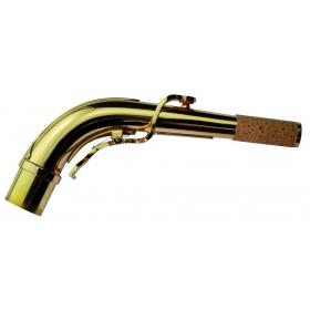 Yanagisawa Alto Sax Neckpipe - Brass Lacquered