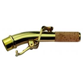 Yanagisawa Soprano Sax Neckpipe SC901 Curved - Brass Lacquered