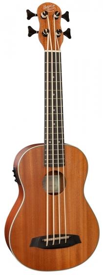 Barnes & Mullins Bass Ukulele - Mahogany