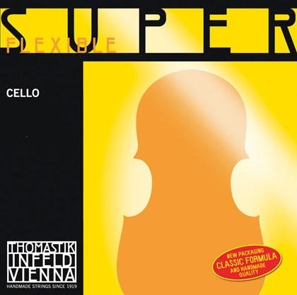 SuperFlexible Cello String G. Tungsten Wound 4/4*R