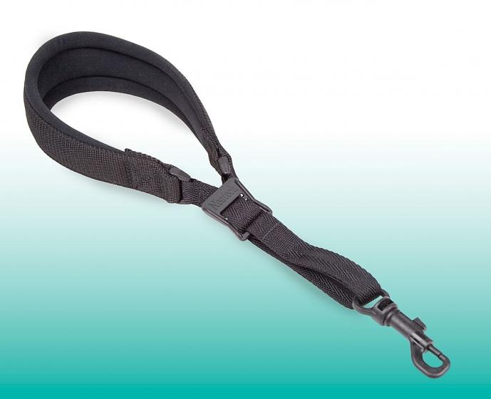 Neotech Pad-It Sax Strap Black Regular - Swivel Hook