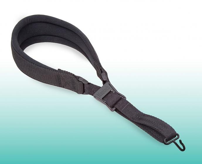 Neotech Pad-It Sax Strap Black Regular - Metal Hook