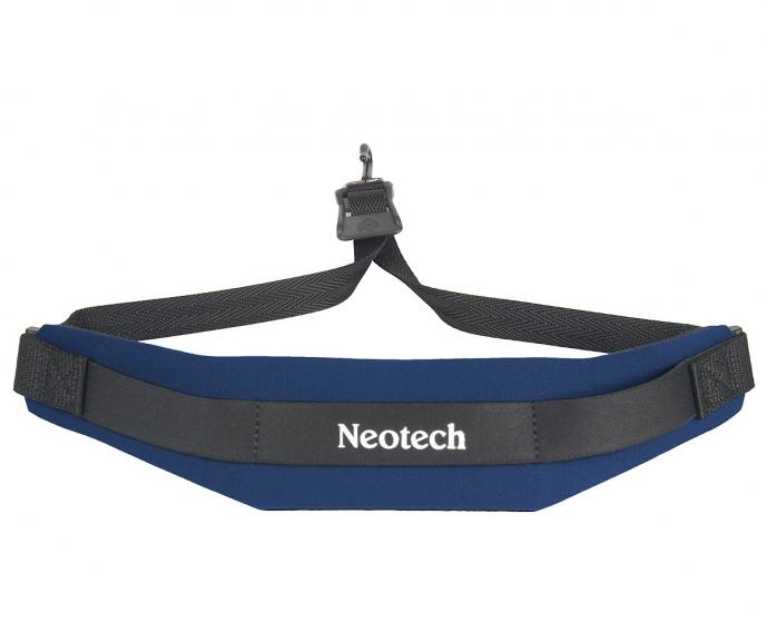Neotech Soft Sax Strap Navy Regular - Metal Hook