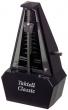 Wittner Metronome. Taktell Classic. Black/Silver