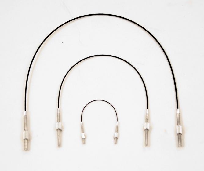 Wittner Viola Tailpiece Wire. Stainless Steel