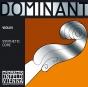 Dominant Violin String E. Chrome Steel. 1/2