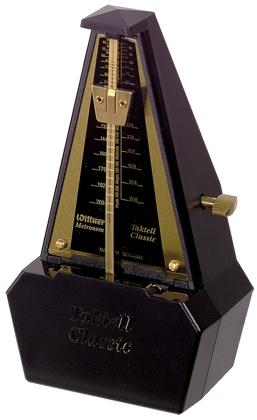 Wittner Metronome. Taktell Classic. Black/Gold