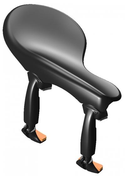 Wittner Side Chin Rest Viola - Zuerich Adjustable