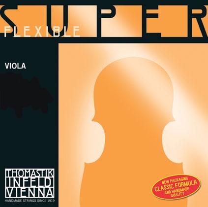 SuperFlexible Viola String D. Chrome Wound 4/4