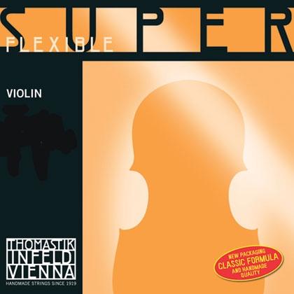 SuperFlexible Violin String D. 1/2 Chrome Wound*R