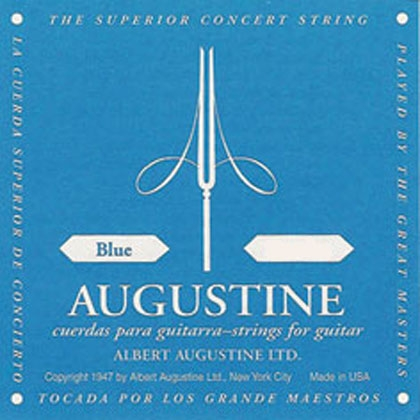 Augustine Blue Label E (Low) Classical Guitar String