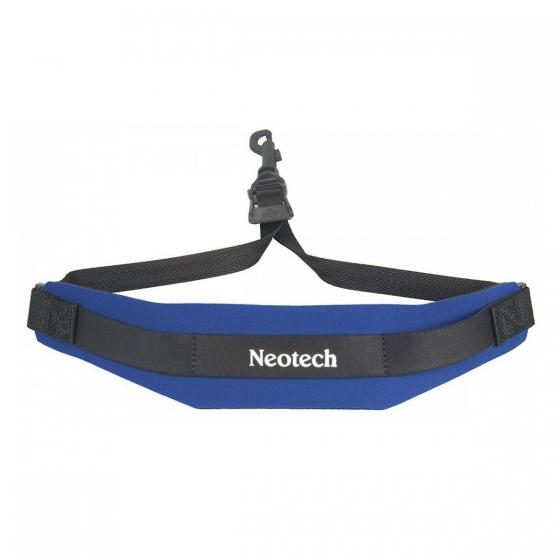 Neotech Soft Sax Strap Royal Blue Junior - Swivel Hook