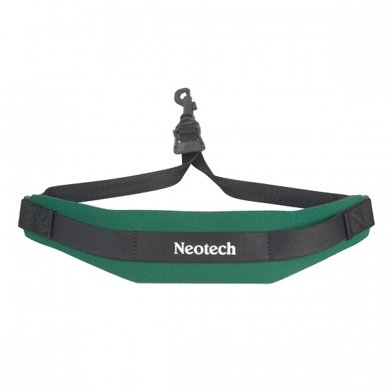 Neotech Soft Sax Strap Forest Green Junior - Swivel Hook