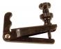 Wittner Violin String Adjuster. Black. 1/2