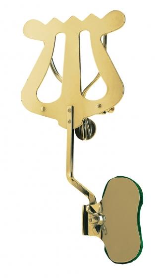 ruka Trombone Lyre - Brass Plated Nickel